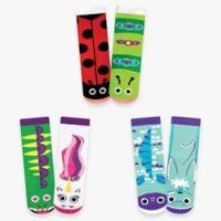 Pals Socks™ Funky Friends Size 4-8T 3-Pack Socks Box