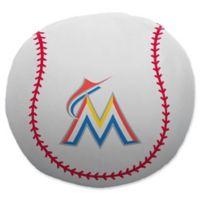 MLB Miami Marlins Baseball Cloud Pillow