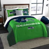 NFL Seattle Seahawks Draft King Comforter Set