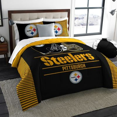 NFL Pittsburgh Steelers Draft King Comforter Set