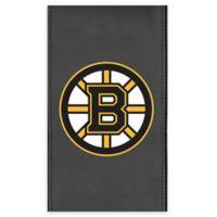 NHL Boston Bruins Faux Leather Logo Panel
