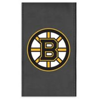51f29c59cfd NHL Boston Bruins Faux Leather Logo Panel