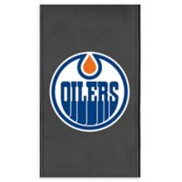 NHL Edmonton Oilers Faux Leather Logo Panel