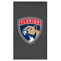 NHL Florida Panthers Faux Leather Logo Panel