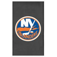 NHL New York Islanders Faux Leather Logo Panel