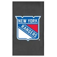 NHL New York Rangers Faux Leather Logo Panel