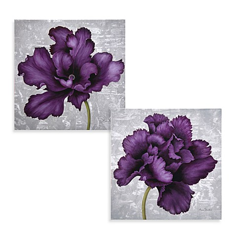 Plum Flower Wall Art Bed Bath Amp Beyond