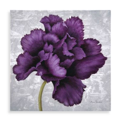 Buy Plum Flower Wall Art Ii From Bed Bath Amp Beyond