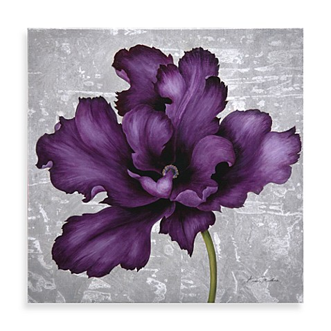 Plum Flower Wall Art Ii Bed Bath Amp Beyond