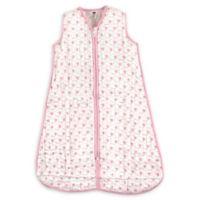 Hudson Baby® Size 18-24M Sheep Cotton Muslin Sleeping Bag in Light Pink