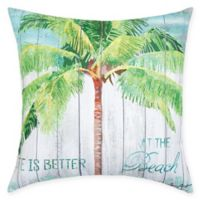 C&F Home At The Beach Square Indoor/Outdoor Pillow in Green