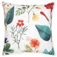 C&F Home Botanical Square Indoor/Outdoor Pillow in Cream