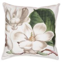 C&F Home Magnolia Square Indoor/Outdoor Pillow in Cream