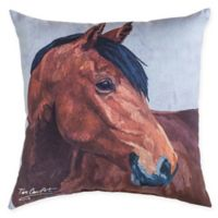 C&F Home Bay Horse Square Indoor/Outdoor Rug in Brown