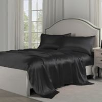 Satin Perfection King Pillowcases in Black (Set of 2)