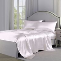 Satin Perfection King Sheet Set in White