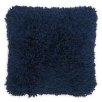 Mina Victory By Nourison Lush Yarn 20-Inch Square Pillow in Navy