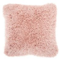 Mina Victory By Nourison Lush Yarn 20-Inch Square Pillow in Rose