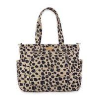 TWELVElittle Carry Love Tote Diaper Bag in Leopard