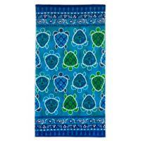 Dena™ Home Turtle Bay Beach Towel in Blue