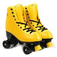 Ferrari Size 9 Classic Retro Roller Skates in Yellow