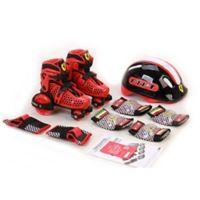 Ferrari 9-Piece Size 13- 2.5 My First Skate Set in Red