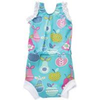 Splash About Size 3-8M Happy Nappy™ Tutti Frutti Swimsuit in Green