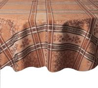 Winchester 70-Inch Round Tablecloth in Copper