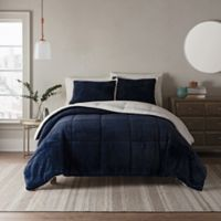 UGG® Clifton 2-Piece Reversible Twin Comforter Set in Navy