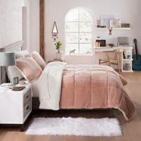 UGG® Clifton 2-Piece Reversible Twin Comforter Set in Quartz