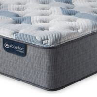 Serta® iComfort® Blue Hybrid 200 Plush Low Profile Cal King Mattress Set