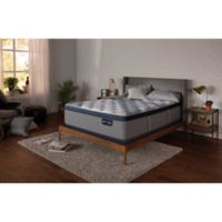 Serta® iComfort® Hybrid Blue 1000 Luxury Firm Plush Low Profile California King Mattress Set