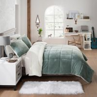 UGG® Clifton 2-Piece Reversible Twin Comforter Set in Agave