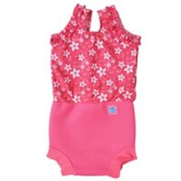 Splash About Size 2-3Y Happy Nappy™ Blossom Swimsuit in Pink