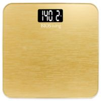 BIOSliving Metallic Digital Scale in Gold
