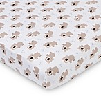 Gerber® Bears Fitted Jersey Crib Sheet