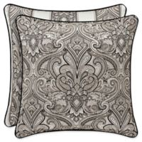 J. Queen New York™ Chancellor Square Throw Pillow in Silver