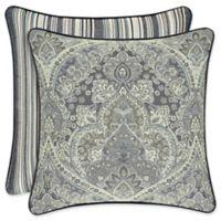 J. Queen New York™ Miranda Square Throw Pillow in Spa