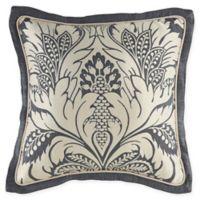 Croscill® Auden Square Throw Pillow in Denim