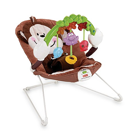 Fisher Price 174 Deluxe Monkey Bouncer Buybuy Baby