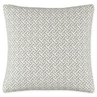 Cross Section Throw Pillow in Grey