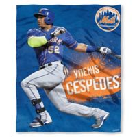 MLB New York Mets Yoenis Cespedes Silk Touch Player Throw Blanket