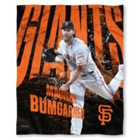 MLB San Francisco Giants Madison Bumgarner Silk Touch Player Throw Blanket