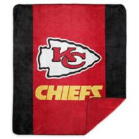 NFL Kansas City Chiefs Denali Sliver Knit Throw Blanket