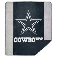NFL Dallas Cowboys Denali Sliver Knit Throw Blanket