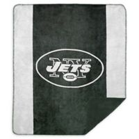 NFL New York Jets Denali Sliver Knit Throw Blanket