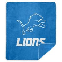 NFL Detroit Lions Denali Sliver Knit Throw Blanket