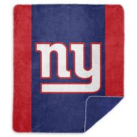 NFL New York Giants Denali Sliver Knit Throw Blanket