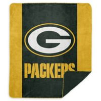 NFL Green Bay Packers Denali Sliver Knit Throw Blanket