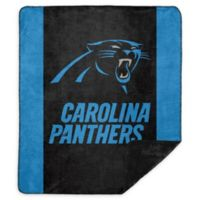 NFL Carolina Panthers Denali Sliver Knit Throw Blanket